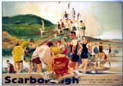 Scarborough, Yorkshire. LNER Vintage Travel Poster by William H Barribal. c1925